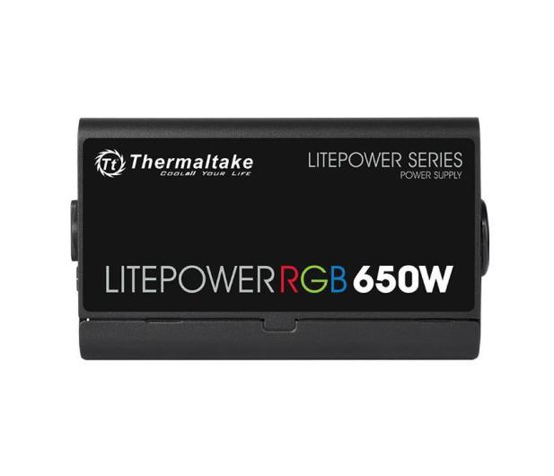 Thermaltake Litepower RGB 650W - 553030 - zdjęcie 5