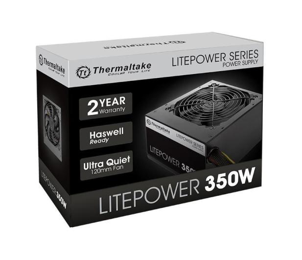 Thermaltake Litepower II Black 350W - 553028 - zdjęcie 5
