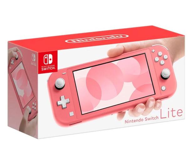 Nintendo Switch Lite - Koralowy - 553357 - zdjęcie 2