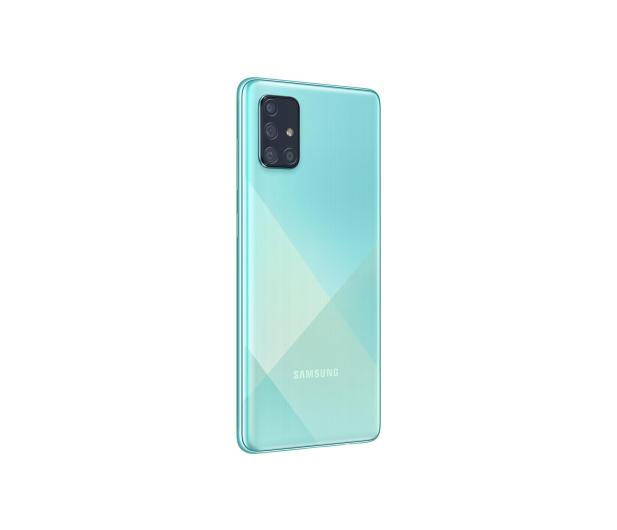 Samsung Galaxy A71 SM-A715F Blue - 536262 - zdjęcie 4