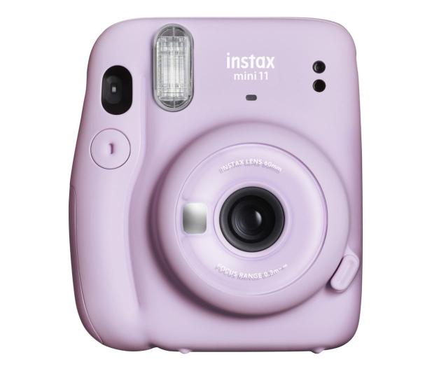 Fujifilm Instax Mini 11 purpurowy + wkłady (10 zdjęć) - 606750 - zdjęcie 2