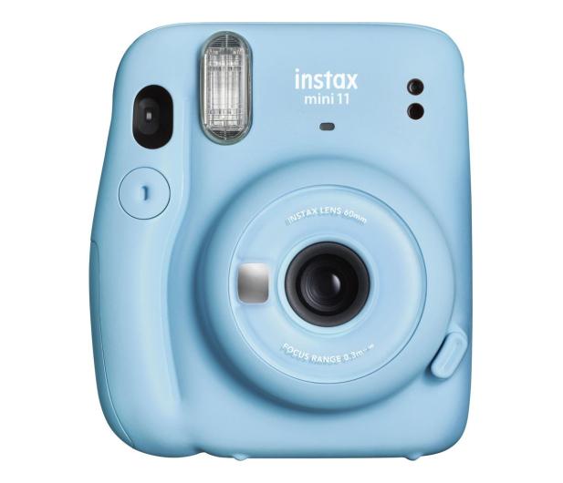 Fujifilm Instax Mini 11 niebieski - 553718 - zdjęcie
