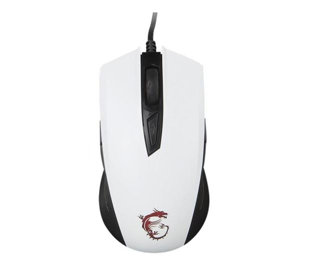 MSI Clutch GM40 Gaming (Biała) - 420104 - zdjęcie