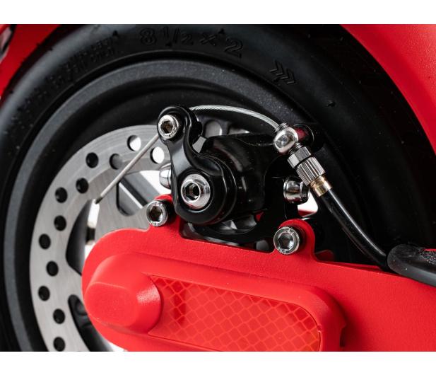 """Fiat F500 8,5"""" 350W czerwona - 554261 - zdjęcie 8"""