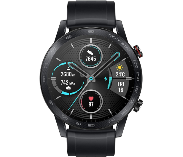 Honor MagicWatch 2 46mm Charcoal Black - 554224 - zdjęcie 2