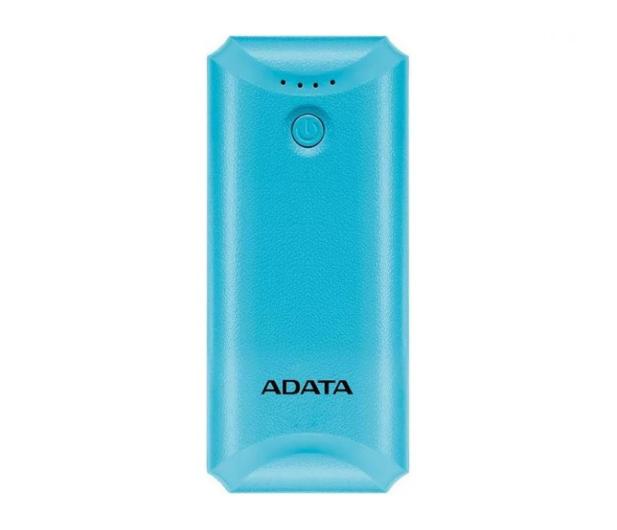 ADATA Power Bank P5000 (5000 mAh, niebieski) - 546276 - zdjęcie