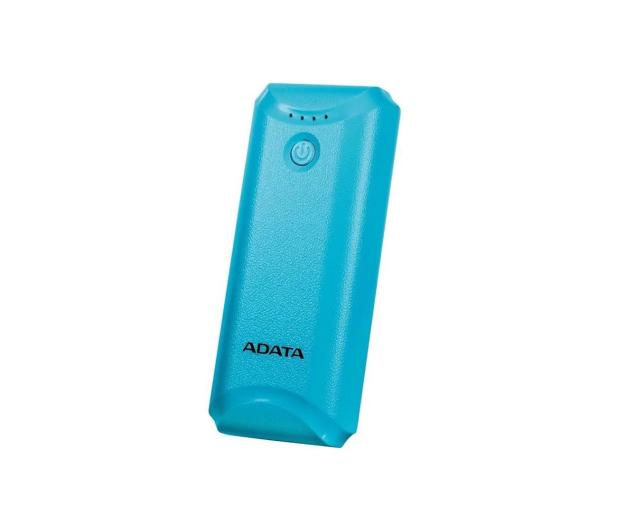 ADATA Power Bank P5000 (5000 mAh, niebieski) - 546276 - zdjęcie 2