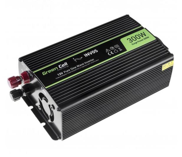 Green Cell Przetwornica napięcia 12V na 230V 300W/600W - 548214 - zdjęcie 2
