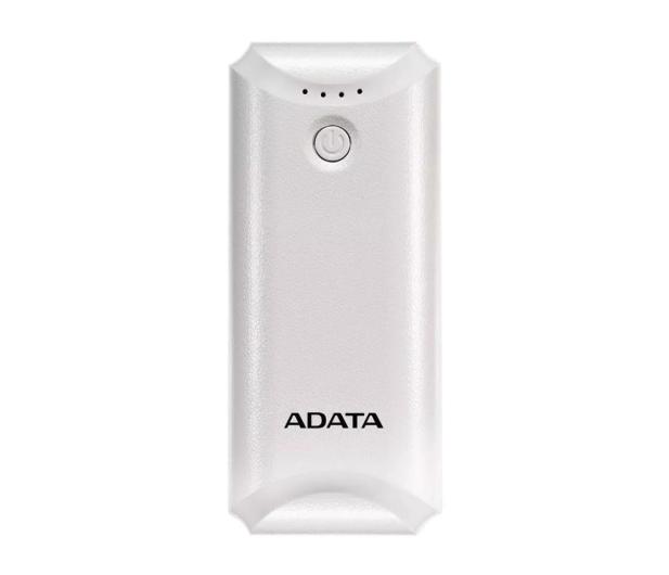 ADATA Power Bank P5000 (5000 mAh, biały) - 546275 - zdjęcie