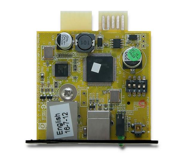 Qoltec Moduł SNMP  - 547882 - zdjęcie 2