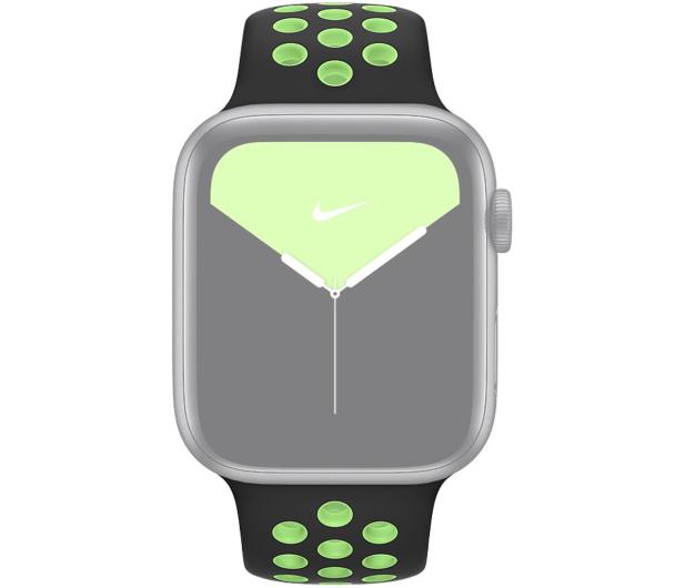 Apple Pasek Sportowy Nike do Apple Watch czarny/limetka  - 555253 - zdjęcie 3