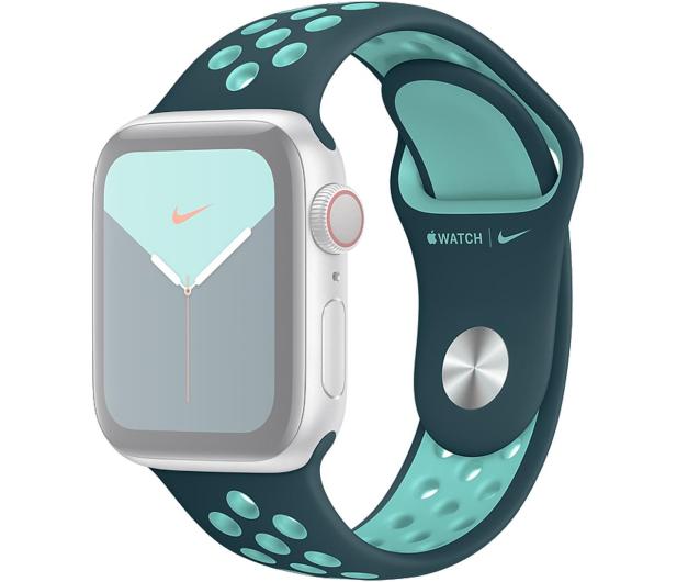 Apple Pasek Sportowy Nike do Apple Watch nocny turkus  - 555252 - zdjęcie