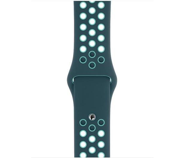 Apple Pasek Sportowy Nike do Apple Watch nocny turkus  - 555252 - zdjęcie 2
