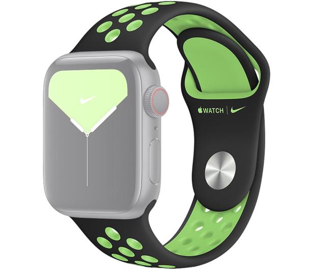 Apple Pasek Sportowy Nike do Apple Watch czarny/limetka - 555251 - zdjęcie