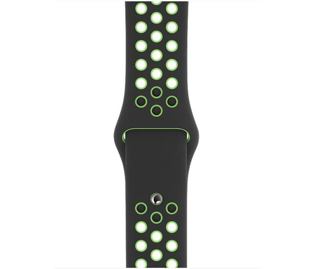 Apple Pasek Sportowy Nike do Apple Watch czarny/limetka - 555251 - zdjęcie 2
