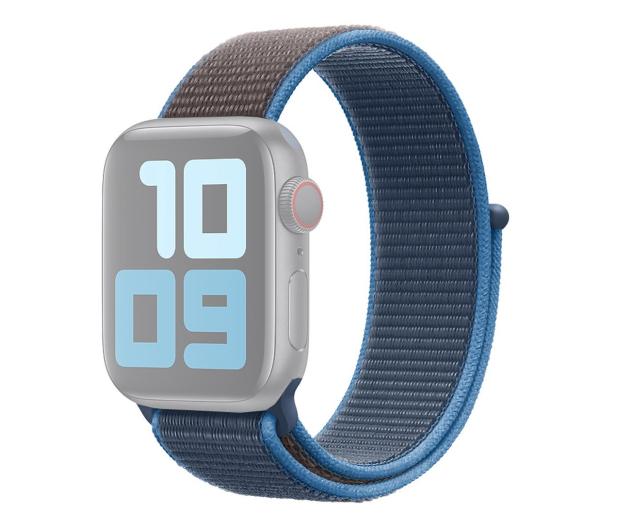 Apple Opaska Sportowa do Apple Watch błękitna fala  - 553799 - zdjęcie