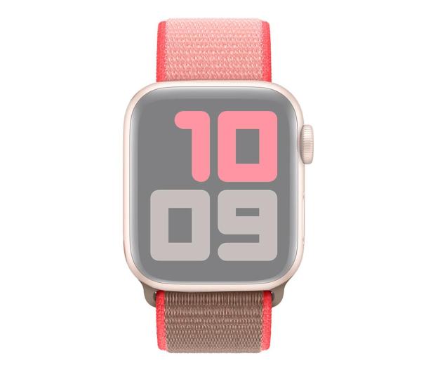 Apple Opaska Sportowa do Apple Watch neonowy róż  - 553797 - zdjęcie 3