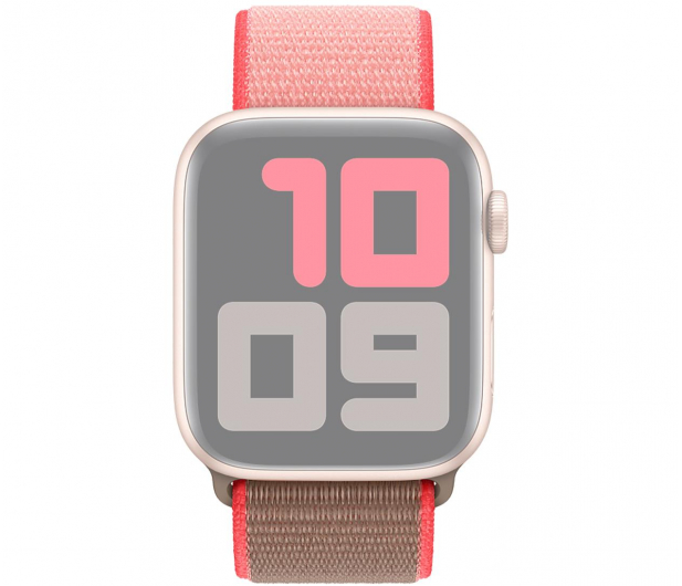 Apple Opaska Sportowa do Apple Watch neonowy róż  - 553804 - zdjęcie 3