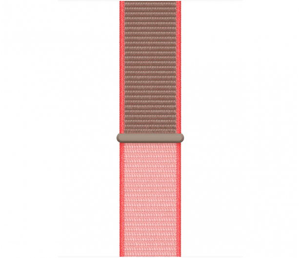 Apple Opaska Sportowa do Apple Watch neonowy róż  - 553804 - zdjęcie 2