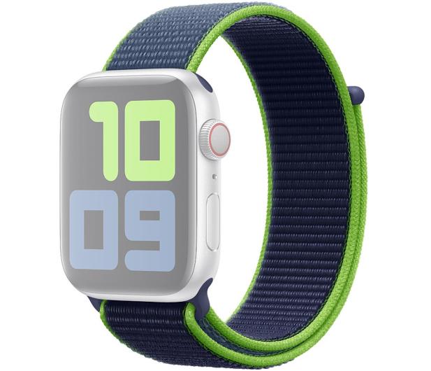 Apple Opaska Sportowa do Apple Watch neonowa limonka  - 553805 - zdjęcie