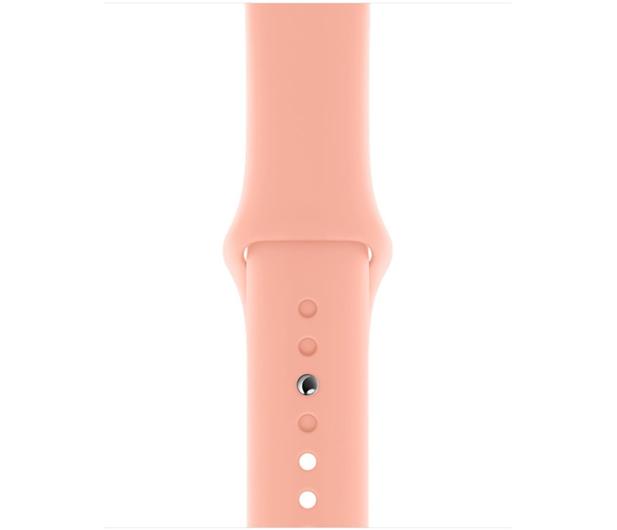Apple Pasek Sportowy do Apple Watch grejpfrutowy  - 553829 - zdjęcie 2