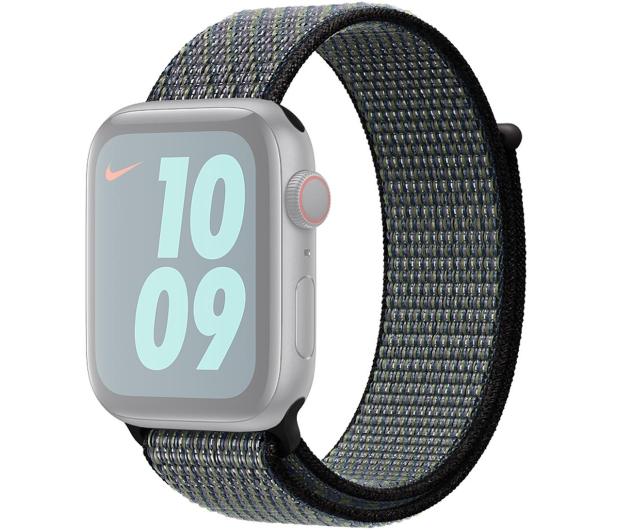 Apple Opaska Sportowa Nike do Apple Watch indygo/limetka - 553823 - zdjęcie