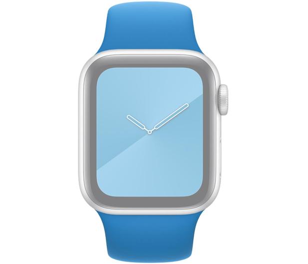 Apple Pasek Sportowy do Apple Watch błękitna fala - 553830 - zdjęcie 3