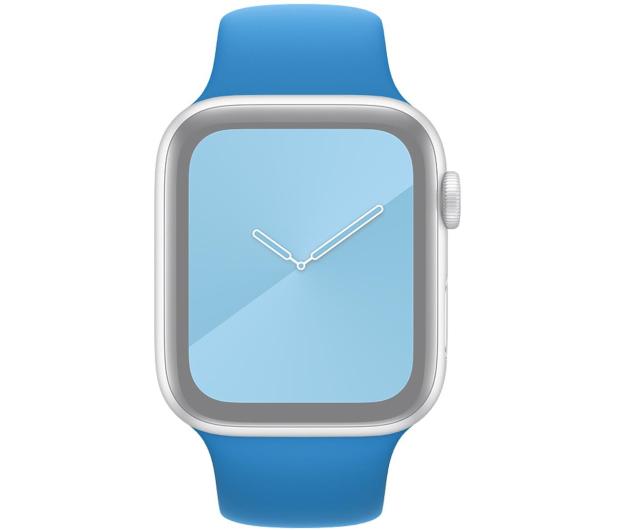 Apple Pasek Sportowy do Apple Watch błękitna fala - 553833 - zdjęcie 3