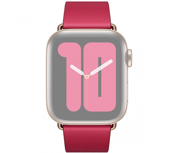 Apple Pasek z Klamrą Nowoczesną do Apple Watch malinowy  - 555243 - zdjęcie 3