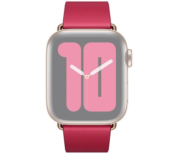 Apple Pasek z Klamrą Nowoczesną do Apple Watch malinowy  - 555244 - zdjęcie 3