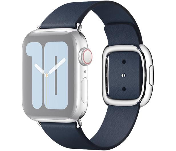 Apple Pasek z Klamrą Nowoczesną do Apple Watch błękit - 555246 - zdjęcie 2