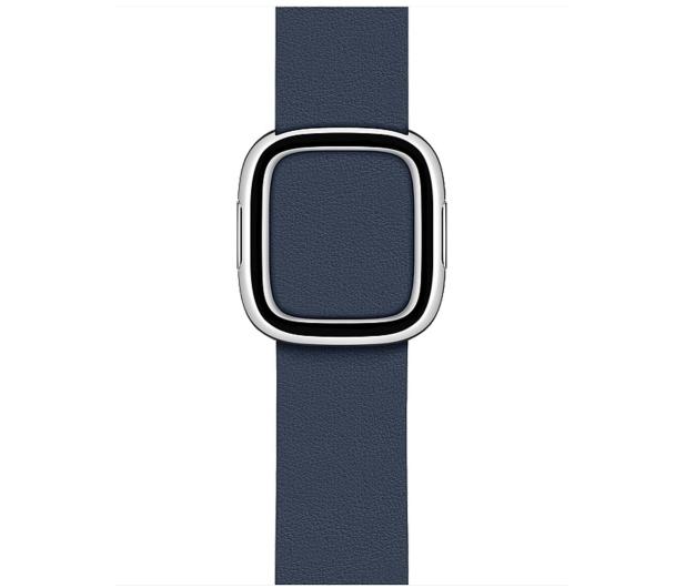 Apple Pasek z Klamrą Nowoczesną do Apple Watch błękit - 555246 - zdjęcie