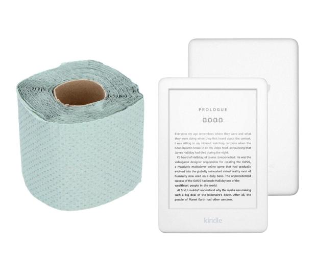 Amazing Papier toaletowy + Kindle 10 2019 biały - 554755 - zdjęcie