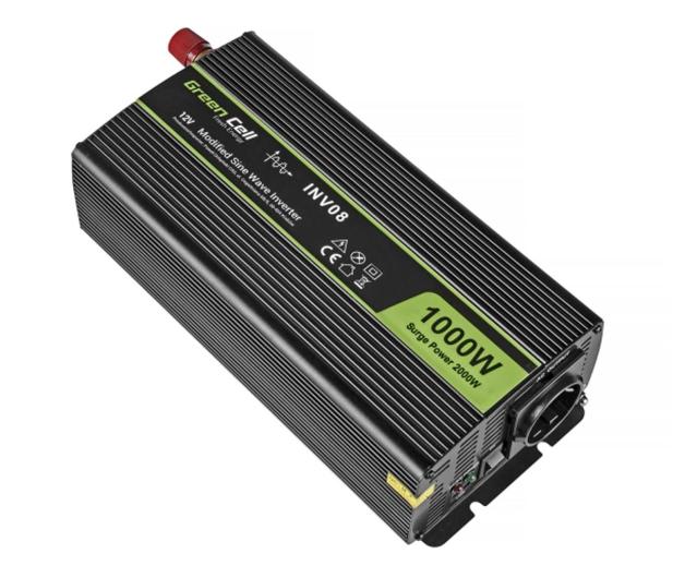 Green Cell Przetwornica napięcia 12V na 230V 1000W/2000W - 548220 - zdjęcie