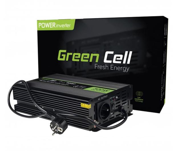 Green Cell Przetwornica napięcia 12V na 230V 300W/600W - 548219 - zdjęcie 3