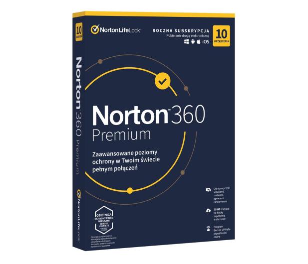 NortonLifeLock 360 Premium 10st. (12m.) - 546818 - zdjęcie
