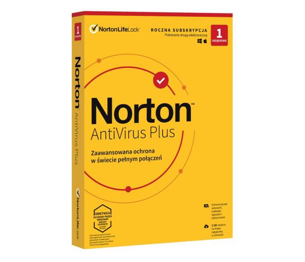 NortonLifeLock Antivirus Plus 1st. (12m.) - 546819 - zdjęcie