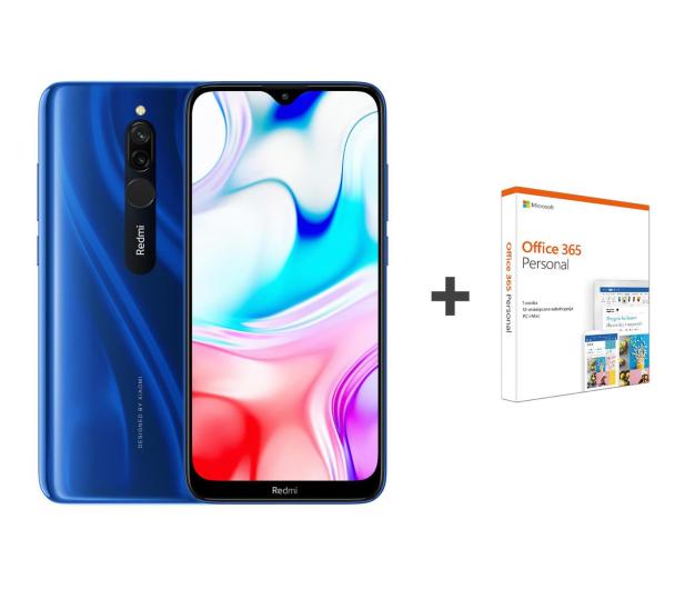 Xiaomi Redmi 8 3/32GB Sapphire Blue+Office 365 - 550084 - zdjęcie