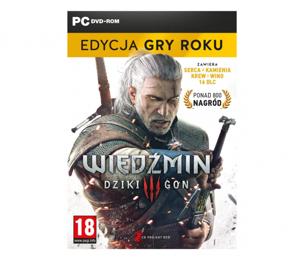 PC Wiedźmin 3: Dziki Gon - Edycja Gry Roku - 550380 - zdjęcie
