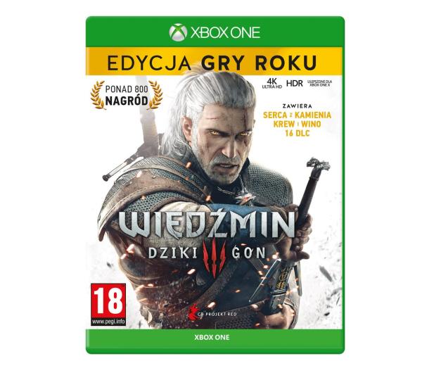 Xbox Wiedźmin 3: Dziki Gon - Edycja Gry Roku - 550377 - zdjęcie
