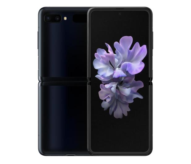 Samsung Galaxy Z Flip SM-F700F Black (Bloom) - 557649 - zdjęcie