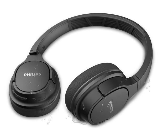 Philips TASH402 ActionFit Czarne - 558565 - zdjęcie 3