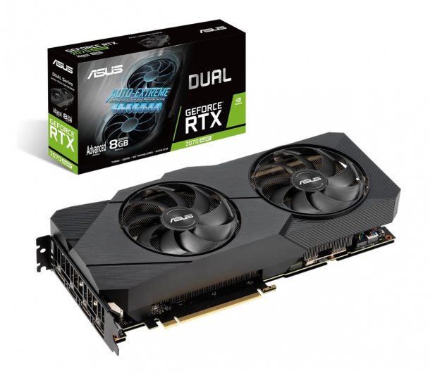 ASUS GeForce RTX 2070 SUPER DUAL Advanced EVO 8GB GDDR6 - 559517 - zdjęcie