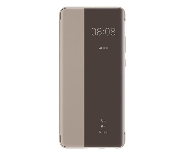 Huawei Smart View Flip Cover do Huawei P40 Pro khaki - 559401 - zdjęcie