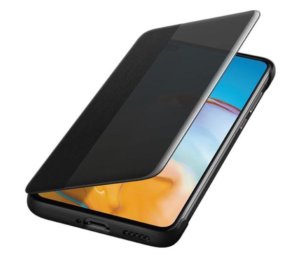 Huawei Smart View Flip Cover do Huawei P40 czarny - 559397 - zdjęcie 3