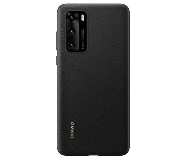 Huawei Plecki Plastikowe do Huawei P40 czarny - 559402 - zdjęcie 3