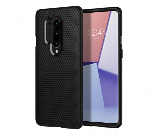 Spigen Liquid Air do OnePlus 8 Pro Black - 559677 - zdjęcie