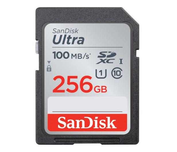SanDisk 256GB SDXC Ultra Class10 100MB/s UHS-I - 559696 - zdjęcie