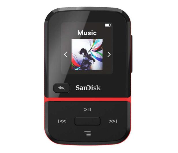 SanDisk Clip Sport Go 16GB czerwony - 559761 - zdjęcie