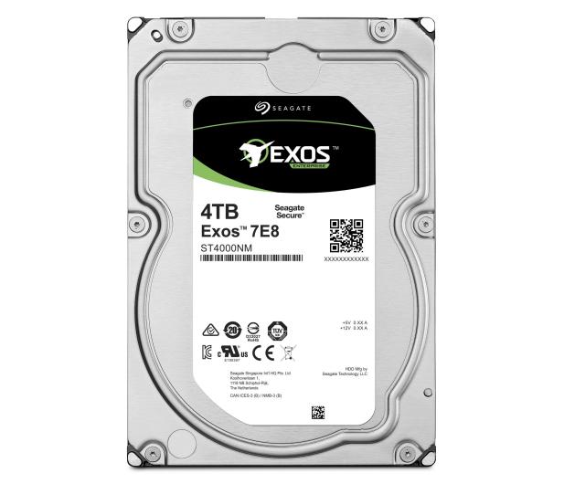 Seagate Exos 4TB 7200obr. 256MB - 533685 - zdjęcie 3